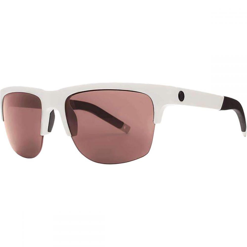 エレクトリック Electric レディース スポーツサングラス 【Knoxville Pro Sunglasses】Matte White/Rose+