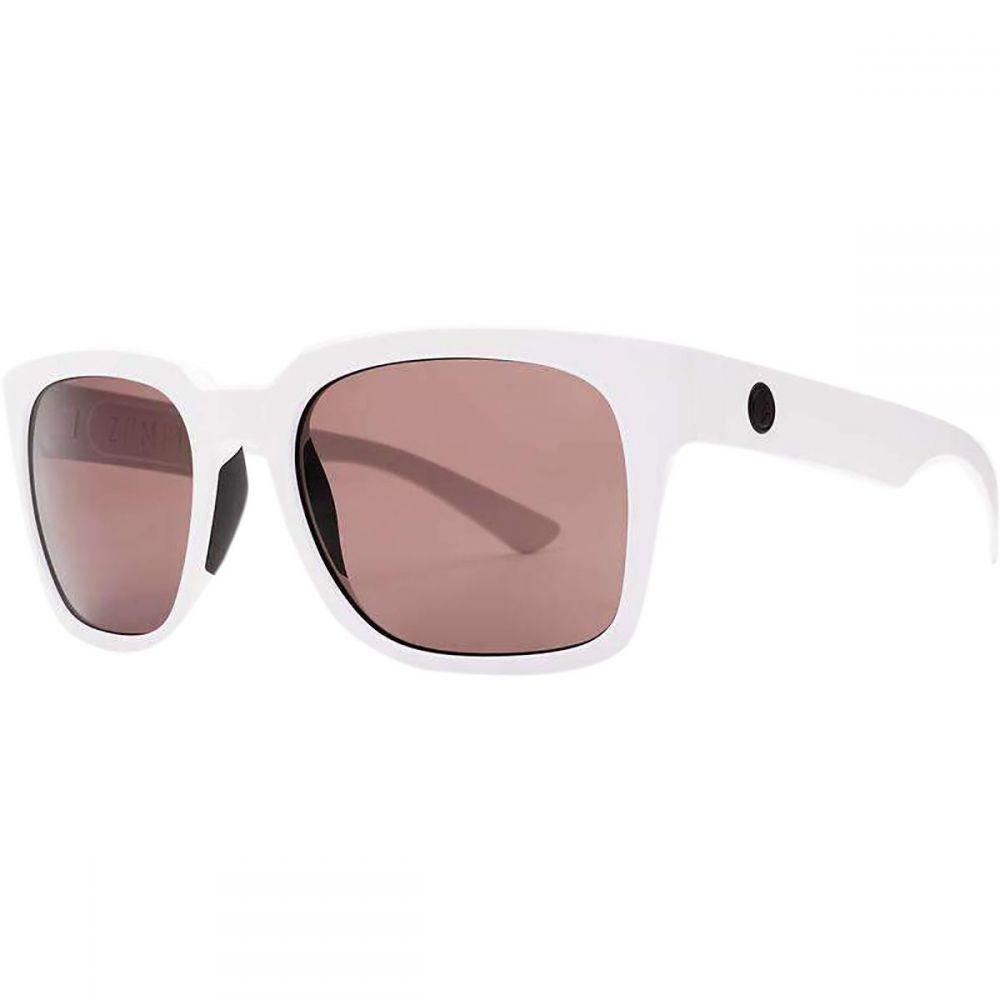 エレクトリック Electric レディース メガネ・サングラス 【Zombie S Polarized Sunglasses】Matte White/Polarized+ Rose