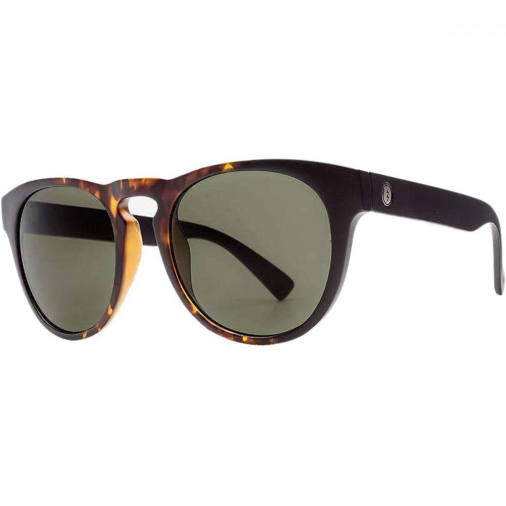 エレクトリック Electric レディース メガネ・サングラス 【Nashville XL Polarized Sunglasses】Tobacco Tort-Polar Grey