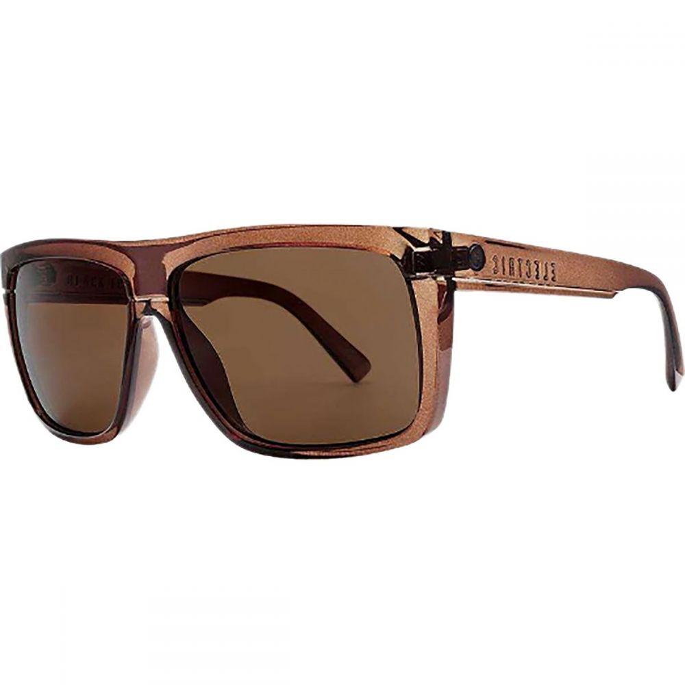 エレクトリック Electric レディース メガネ・サングラス 【Black Top Sunglasses - Polarized】Mono Bronze/Polarized Bronze