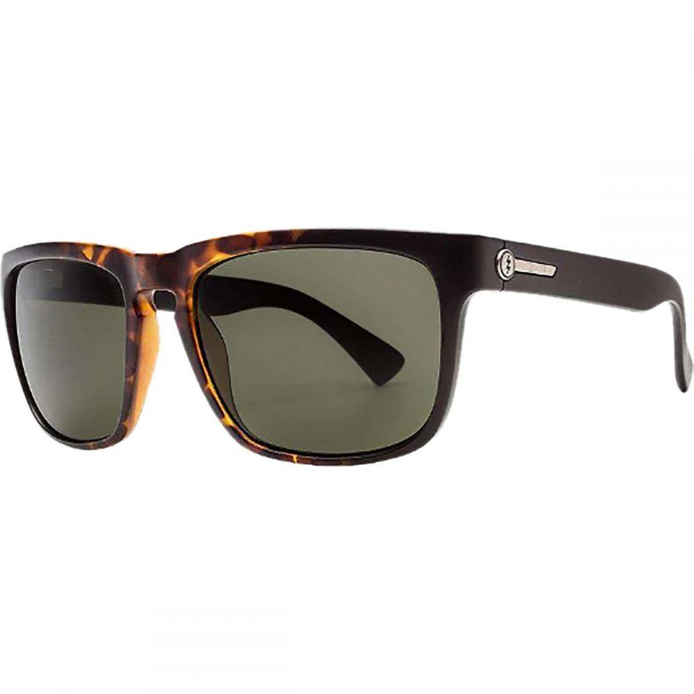 エレクトリック Electric メンズ メガネ・サングラス 【Knoxville Polarized Sunglasses】Tobacco Tort Burst-Polar Grey