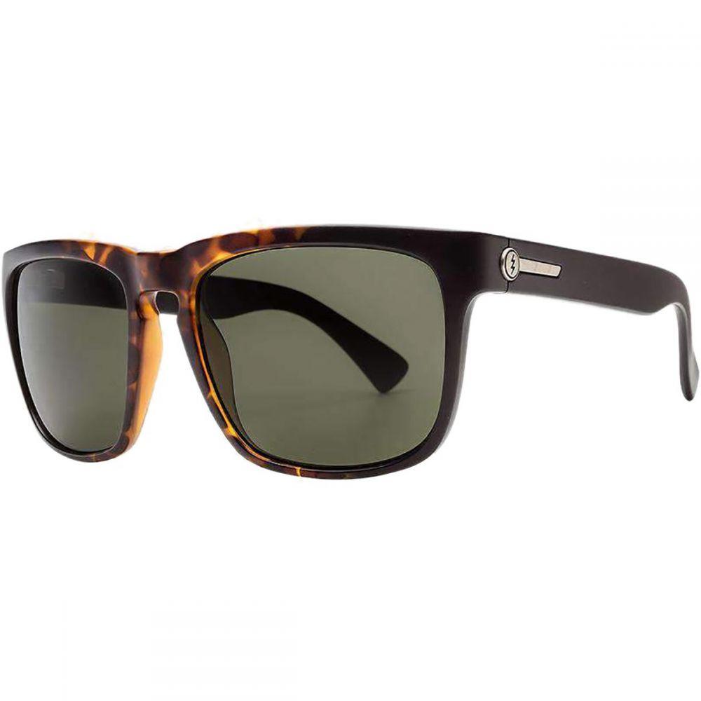 エレクトリック Electric メンズ メガネ・サングラス 【Knoxville XL Polarized Sunglasses】Tobacco Tort Burst/Polarized Grey