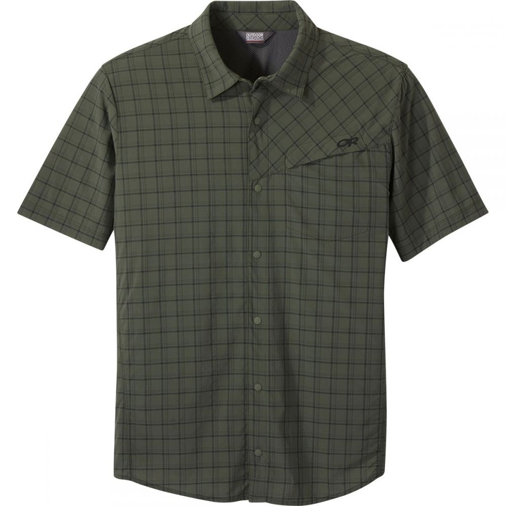 アウトドアリサーチ Outdoor Research メンズ 半袖シャツ トップス【Astroman Shirt - Short - Sleeve】Ivy