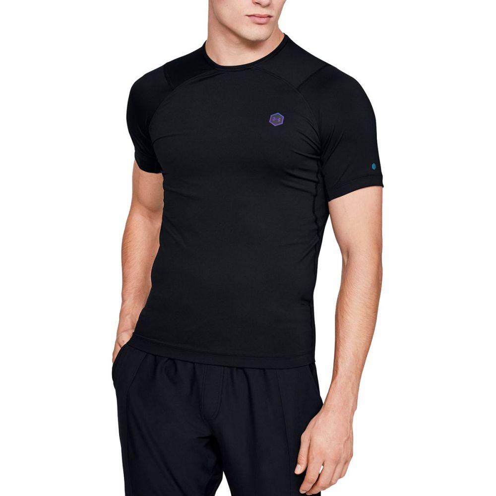 アンダーアーマー Under Armour メンズ Tシャツ トップス【HG Rush Compression SS Shirt】Black/Black