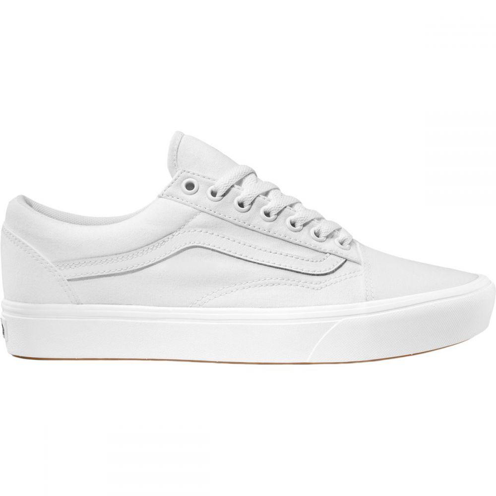 ヴァンズ Vans レディース スニーカー シューズ・靴【Comfycush Old Skool Shoe】True White/True White
