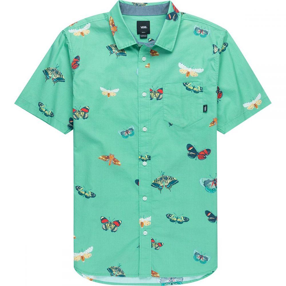 ヴァンズ Vans メンズ 半袖シャツ トップス【Metamorphosis Short - Sleeve Shirt】Dusty Jade Green Metamorphosis