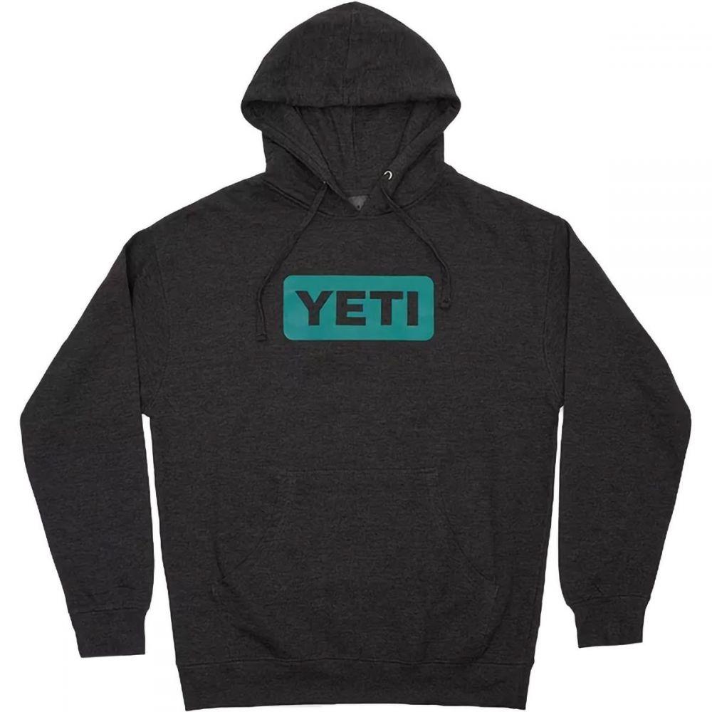 イエティ YETI メンズ ランニング・ウォーキング パーカー トップス【Logo Hoodie】Charcoal