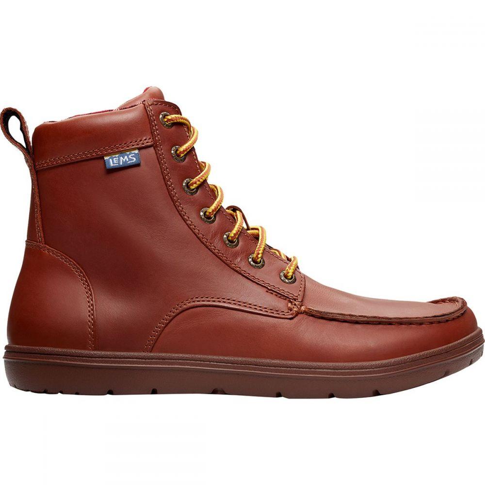 レムシューズ Lems メンズ ブーツ シューズ・靴【Boulder Leather Boot】Russet
