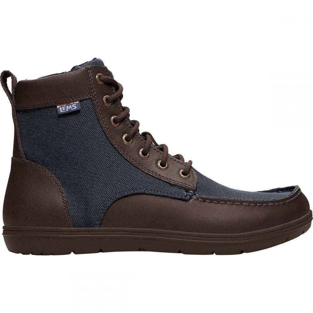 レムシューズ Lems レディース ブーツ シューズ・靴【Boulder Boot】Navy Stout