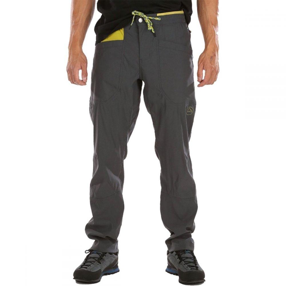 ラスポルティバ La Sportiva メンズ ハイキング・登山 ボトムス・パンツ【Talus Pant】Carbon/Kiwi