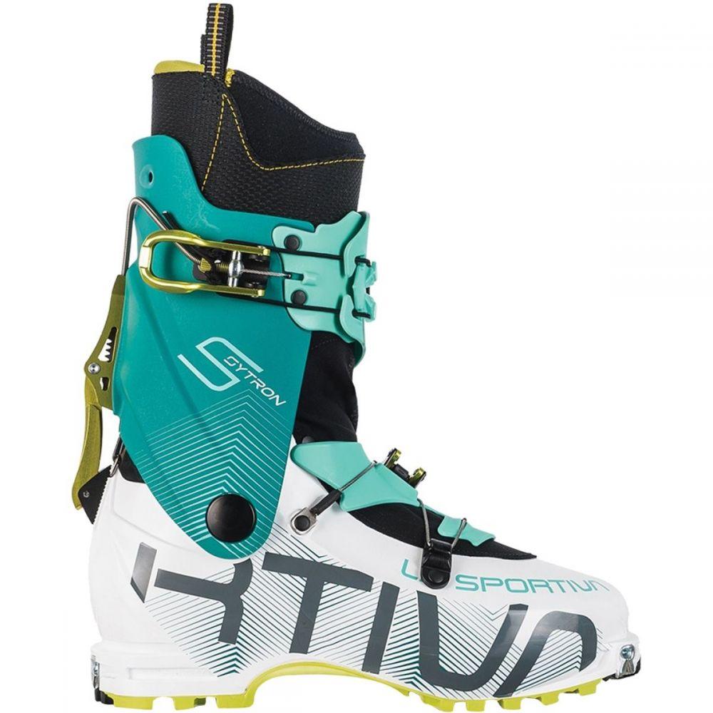 ラスポルティバ La Sportiva レディース スキー・スノーボード ブーツ シューズ・靴【Sytron Alpine Touring Boot】White/Emerald