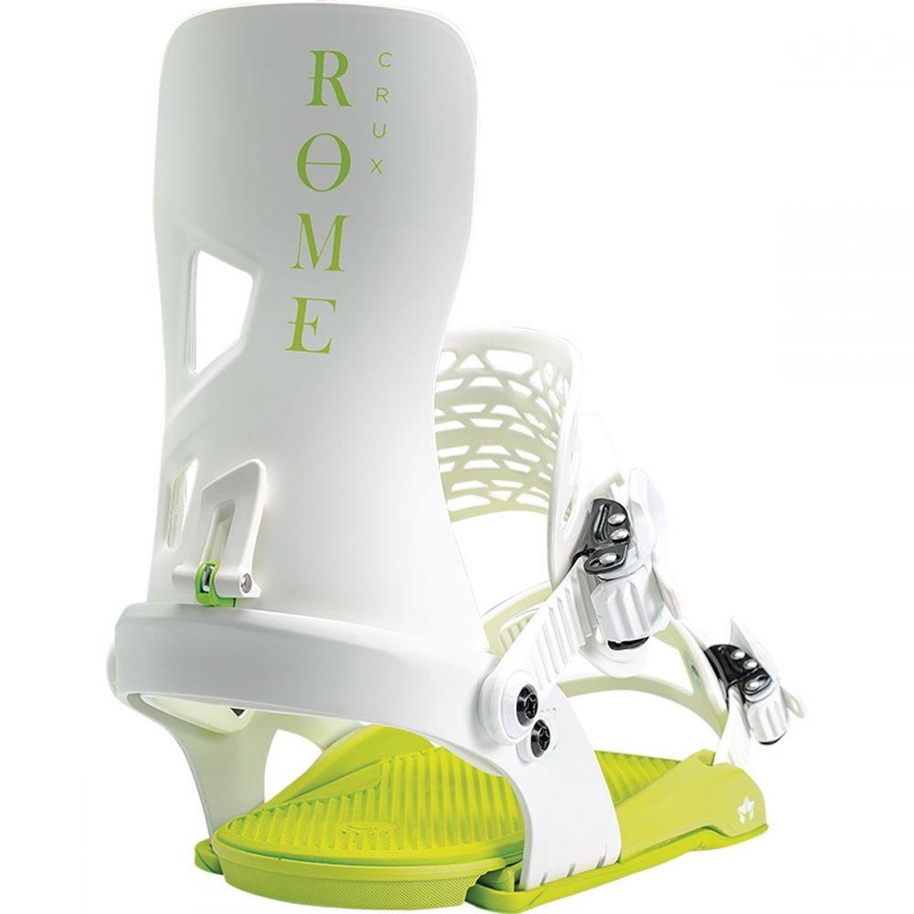 ローマー Rome レディース スキー・スノーボード ビンディング【Crux Snowboard Binding】White