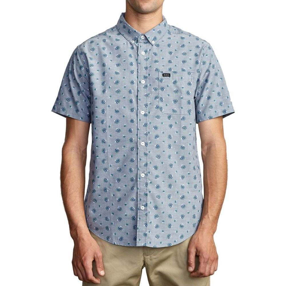 ルーカ RVCA メンズ 半袖シャツ トップス【That'll Do Print Short - Sleeve Shirt】Distant Blue