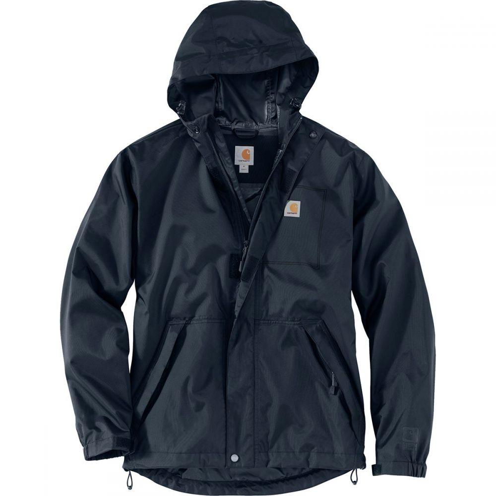 カーハート Carhartt メンズ レインコート アウター【Dry Harbor Jacket】Navy