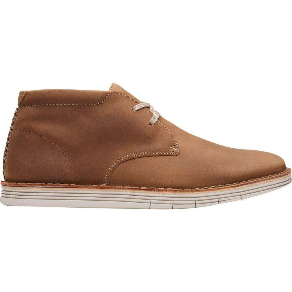 クラークス Clarks メンズ シューズ・靴 【Forge Stride Shoe】Tan Leather