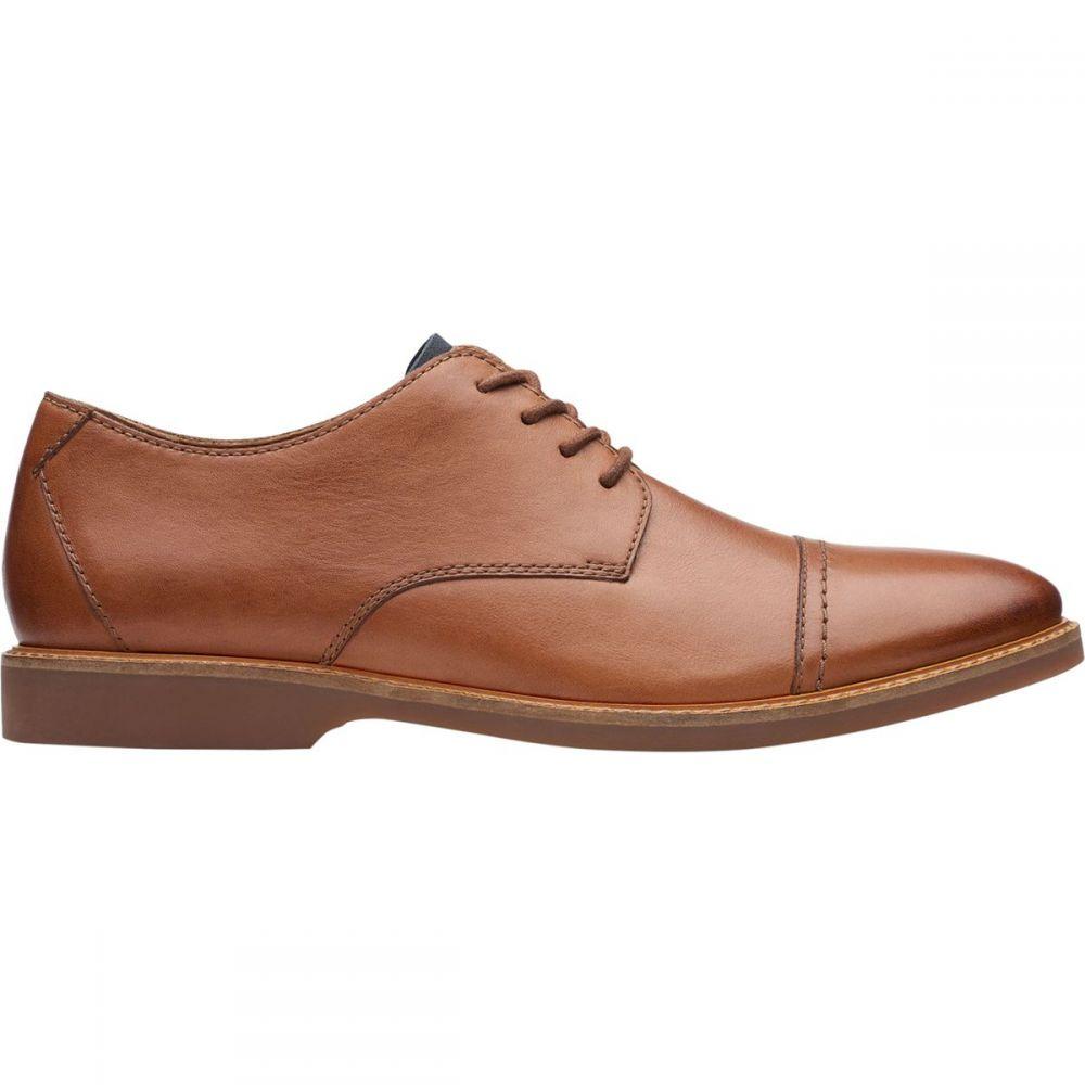 クラークス Clarks メンズ シューズ・靴 【Atticus Cap Shoe】Tan Leather
