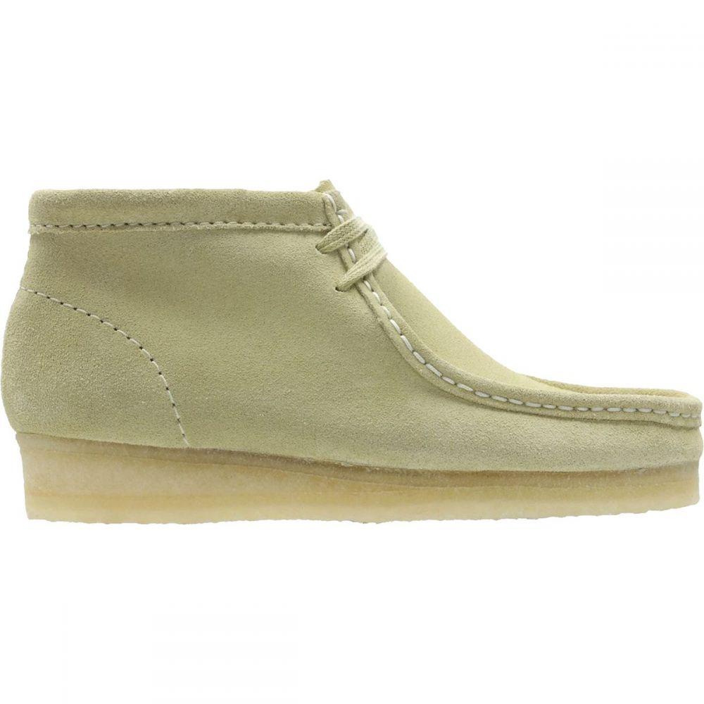 クラークス Clarks レディース ブーツ シューズ・靴【Wallabee Boot】Maple Suede