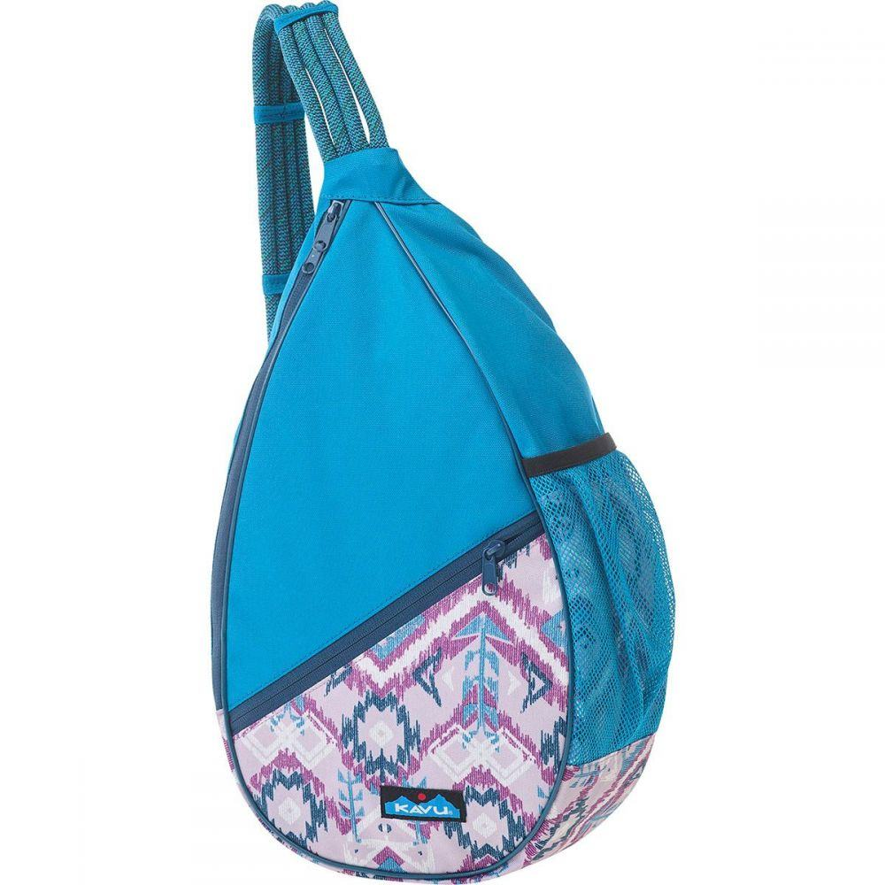 カブー KAVU レディース ボディバッグ・ウエストポーチ バッグ【Paxton Sling Pack】Purple Ikat