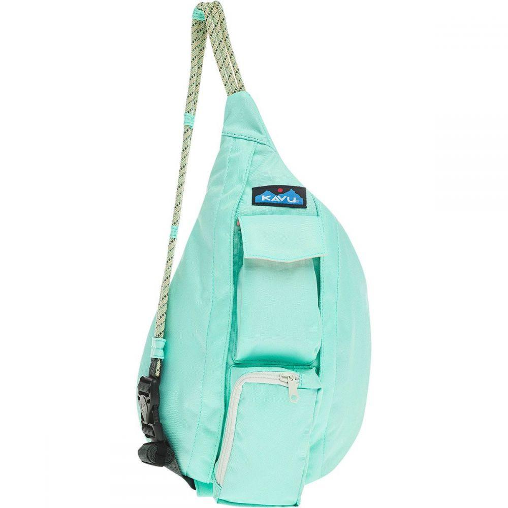 カブー KAVU レディース ボディバッグ・ウエストポーチ バッグ【Mini Rope Sling Pack】Hyper Aqua