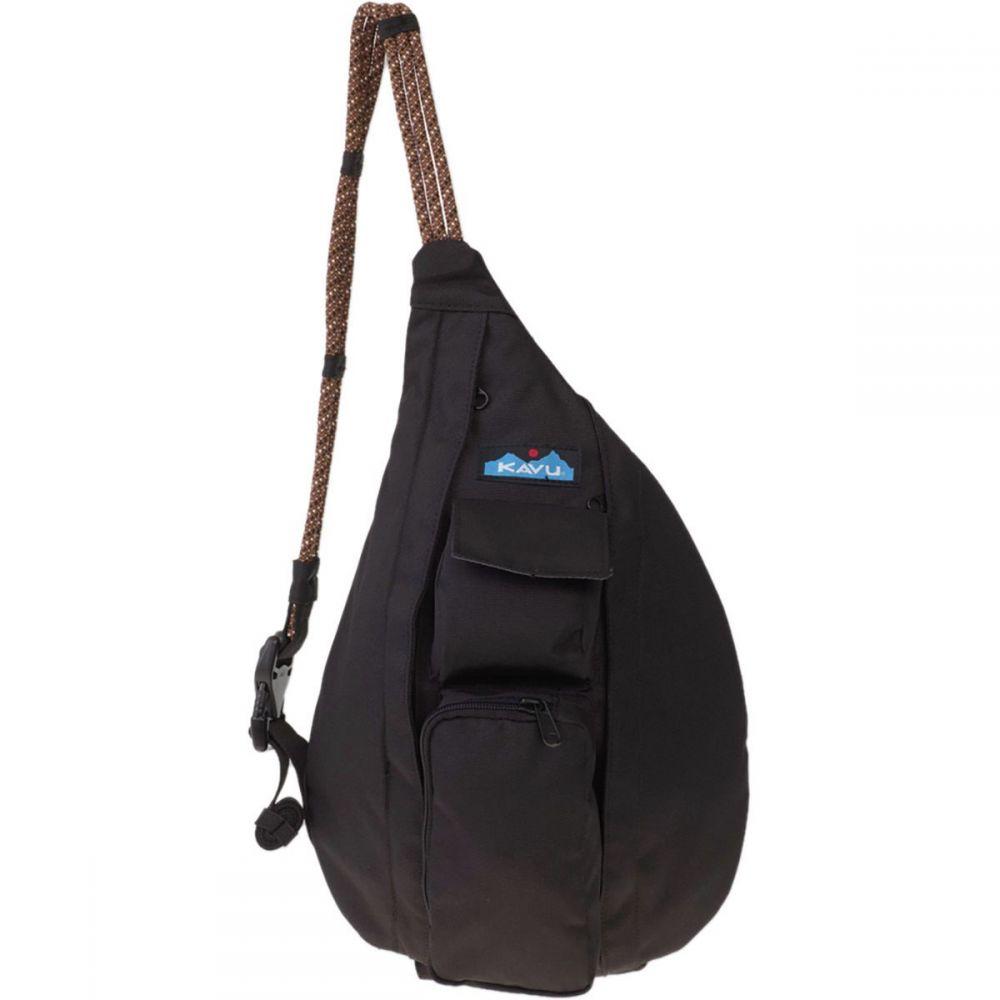 カブー KAVU レディース ボディバッグ・ウエストポーチ バッグ【Mini Rope Sling Pack】Jet Black