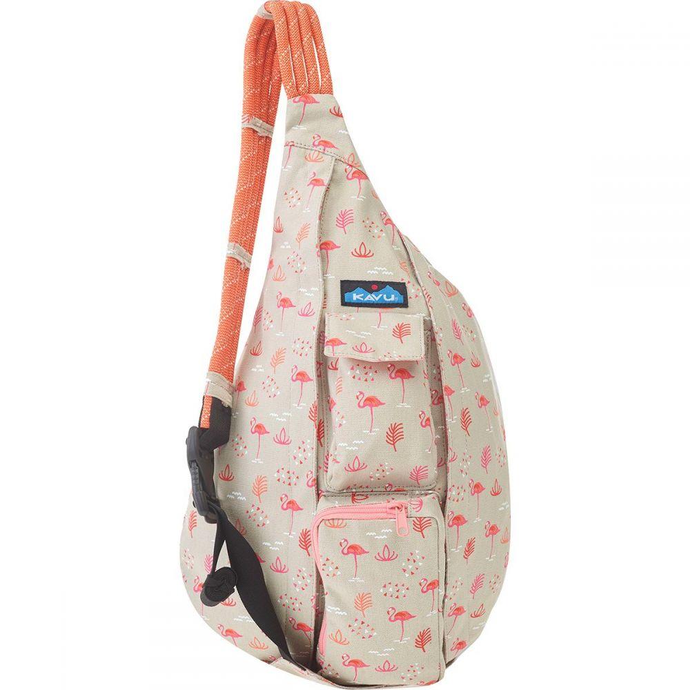 カブー KAVU レディース ボディバッグ・ウエストポーチ ボディバッグ バッグ【Rope Bag】Chillin Flamingo