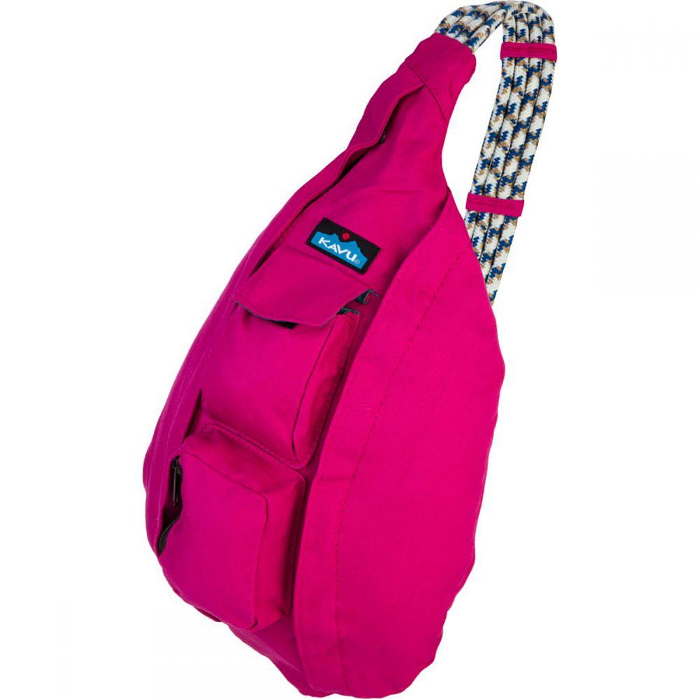 カブー KAVU レディース ボディバッグ・ウエストポーチ ボディバッグ バッグ【Rope Bag】Magenta
