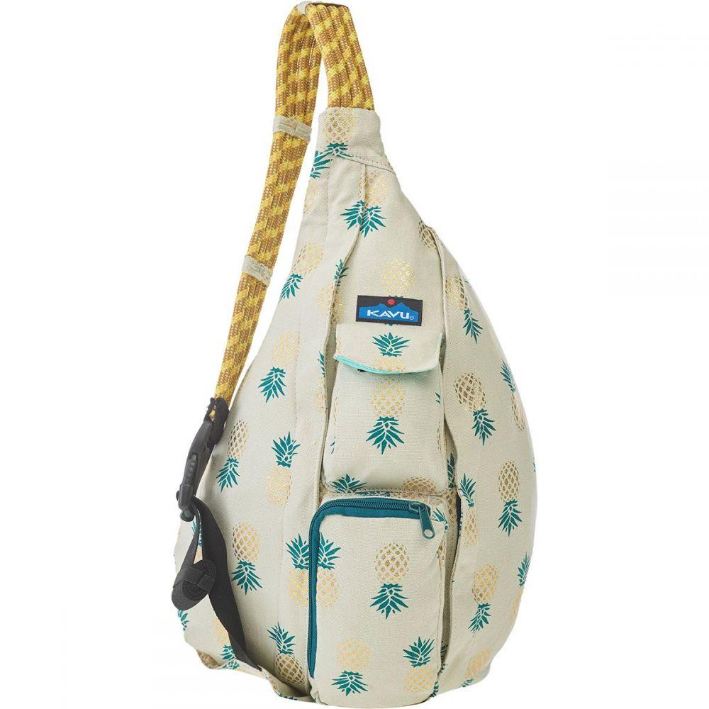 カブー KAVU レディース ボディバッグ・ウエストポーチ ボディバッグ バッグ【Rope Bag】Pineapple Express