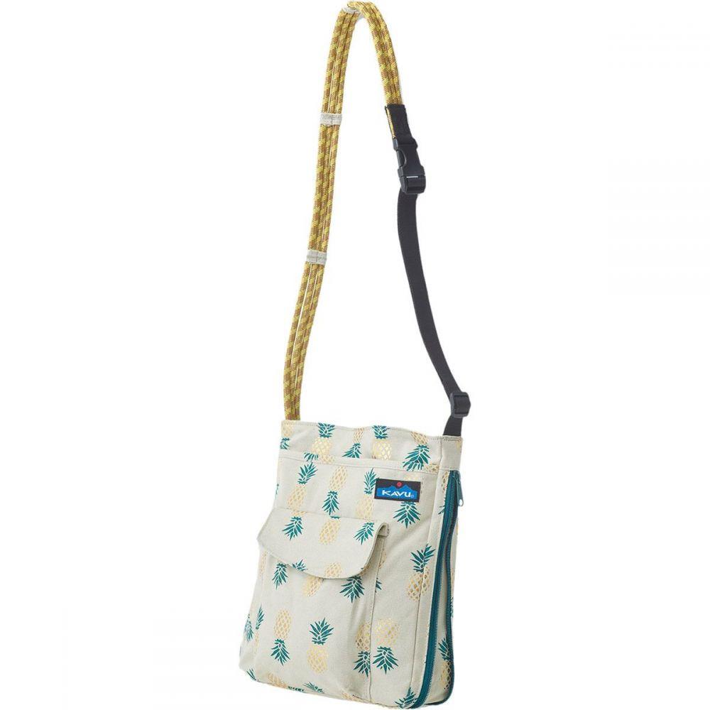 カブー KAVU レディース ショルダーバッグ バッグ【Sidewinder Cross Body Bag】Pineapple Express