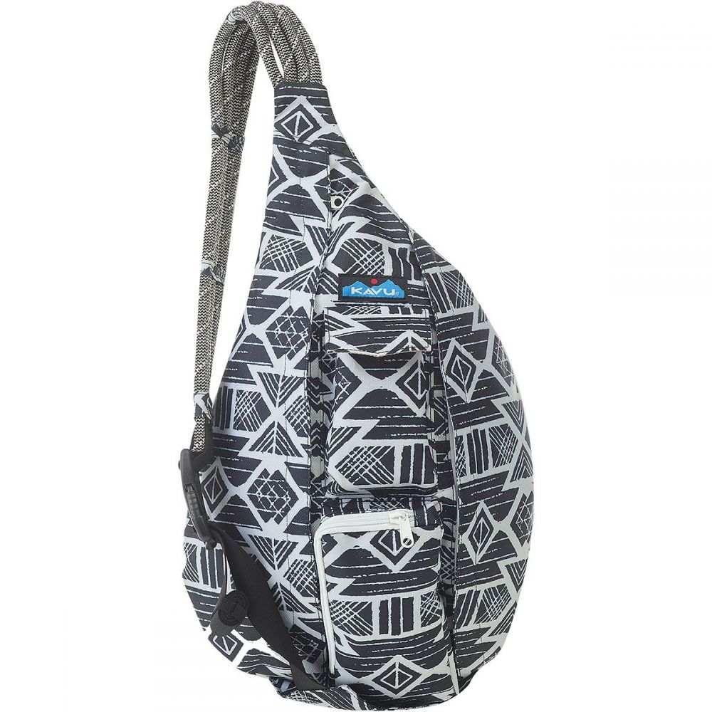 カブー KAVU レディース ボディバッグ・ウエストポーチ バッグ【Rope Sling Pack】Carbon Tribal