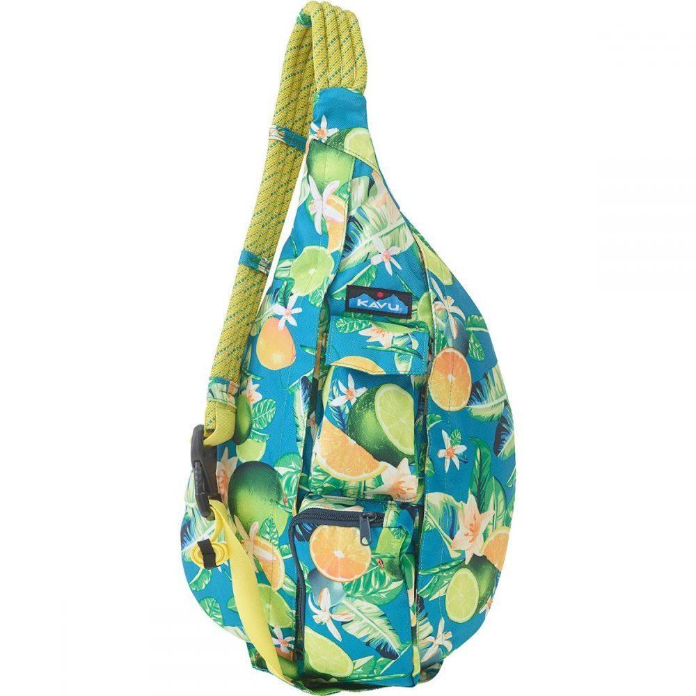 カブー KAVU レディース ボディバッグ・ウエストポーチ バッグ【Rope Sling Pack】Ocean Citrus