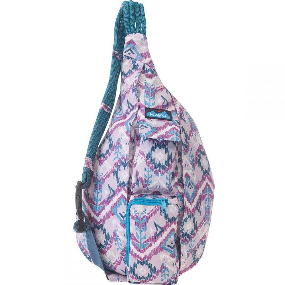 カブー KAVU レディース ボディバッグ・ウエストポーチ バッグ【Rope Sling Pack】Purple Ikat