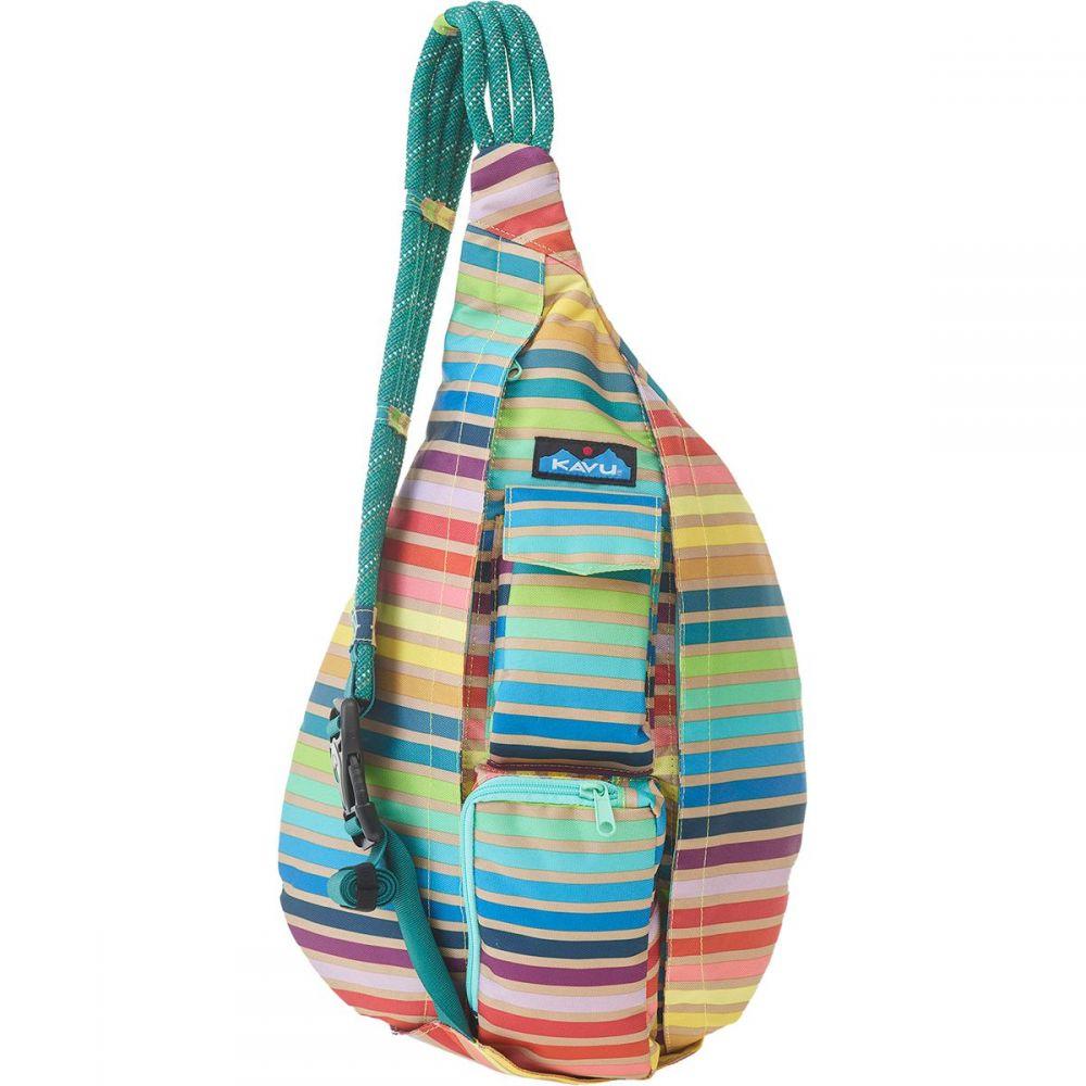 カブー KAVU レディース ボディバッグ・ウエストポーチ バッグ【Rope Sling Pack】Summer Stripe