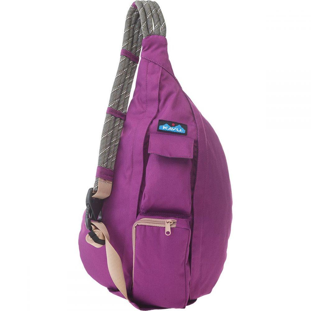 カブー KAVU レディース ボディバッグ・ウエストポーチ バッグ【Rope Sling Pack】Violet