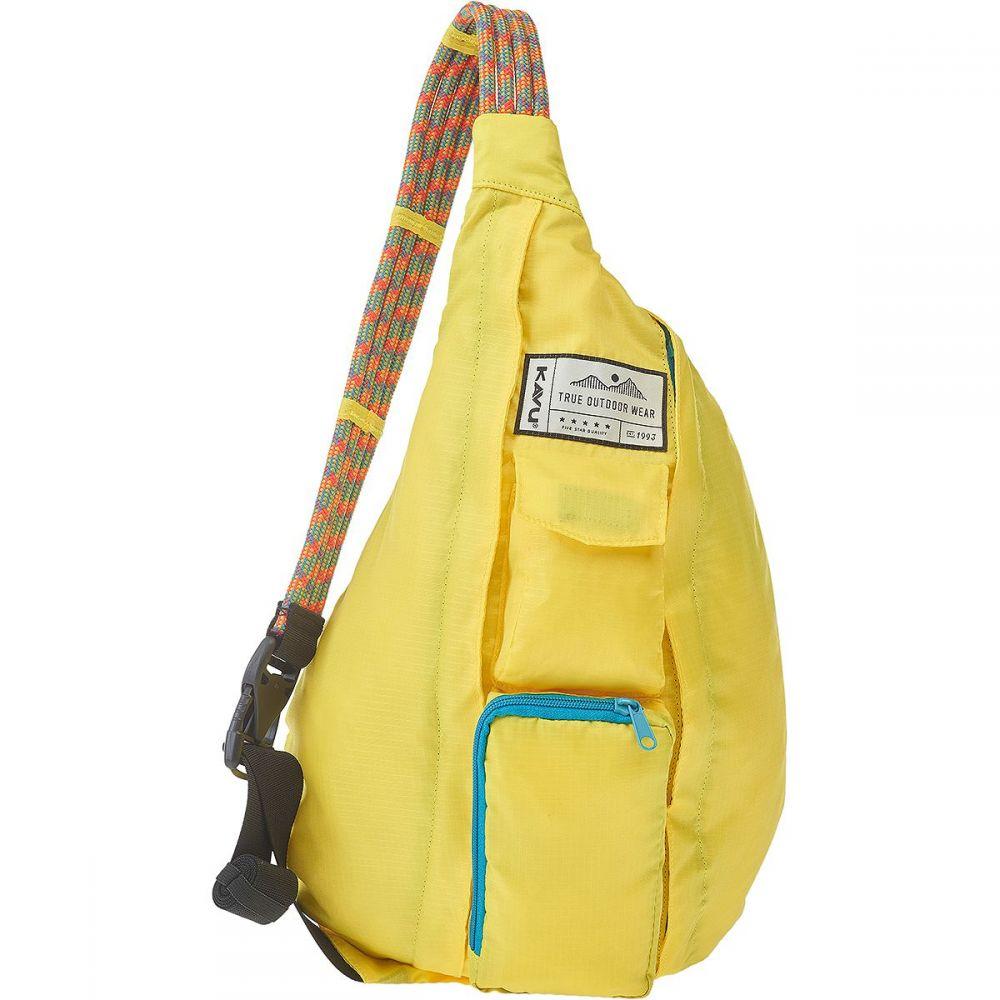 カブー KAVU レディース ボディバッグ・ウエストポーチ バッグ【Rope Pack Sling Bag】Banana Split