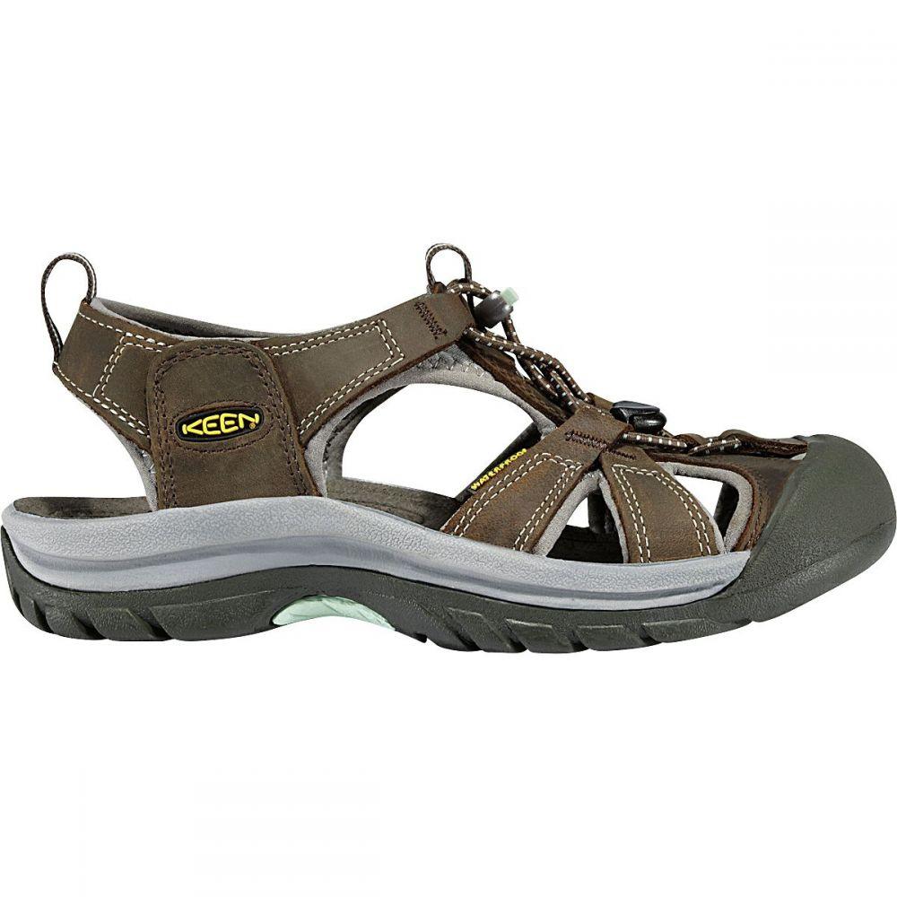 キーン KEEN レディース サンダル・ミュール シューズ・靴【Venice Sandal】Black Olive/Surf Spray