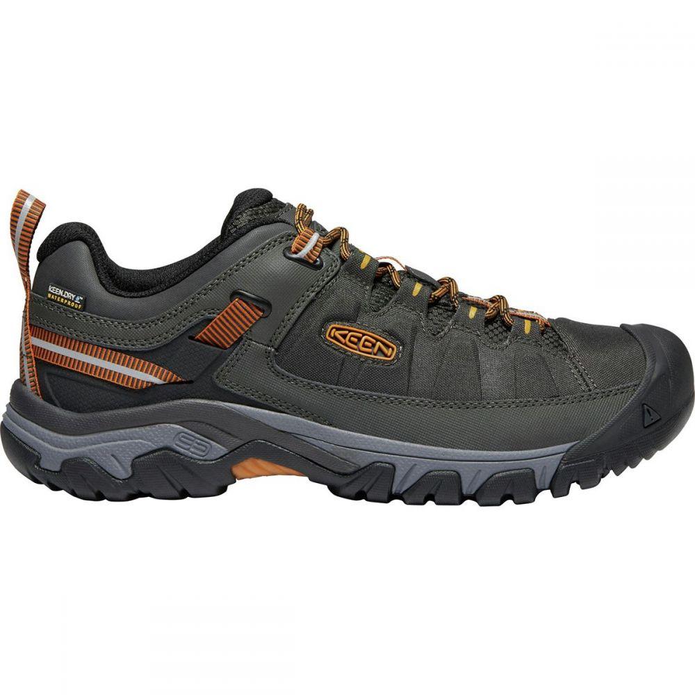 キーン KEEN メンズ ハイキング・登山 シューズ・靴【Targhee Exp Waterproof Hiking Shoe】Raven/Inca Gold