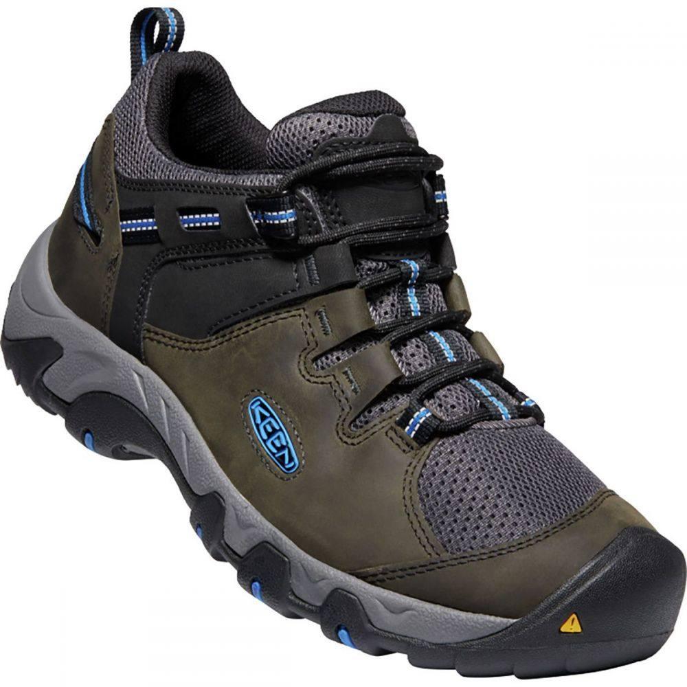 キーン KEEN メンズ ハイキング・登山 シューズ・靴【Steens Vent Hiking Shoe】Magnet/Sky Diver