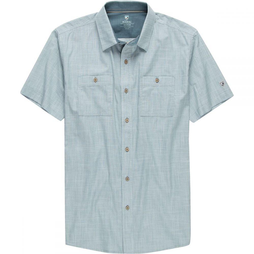 キュール KUHL メンズ 半袖シャツ トップス【Karib Short - Sleeve Shirt】Horizon Blue