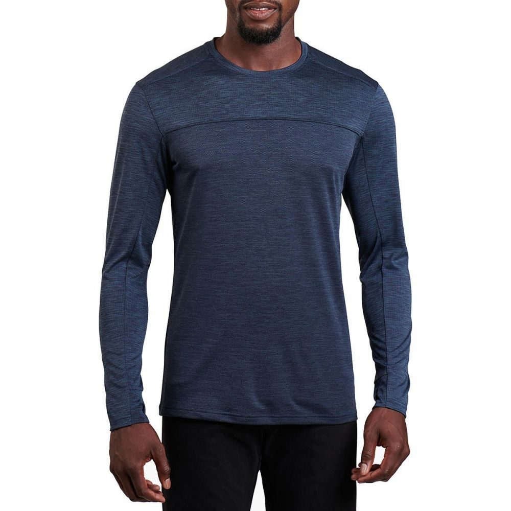 キュール KUHL メンズ 長袖Tシャツ トップス【Aktiv Engineered Long - Sleeve Shirt】Pirate Blue