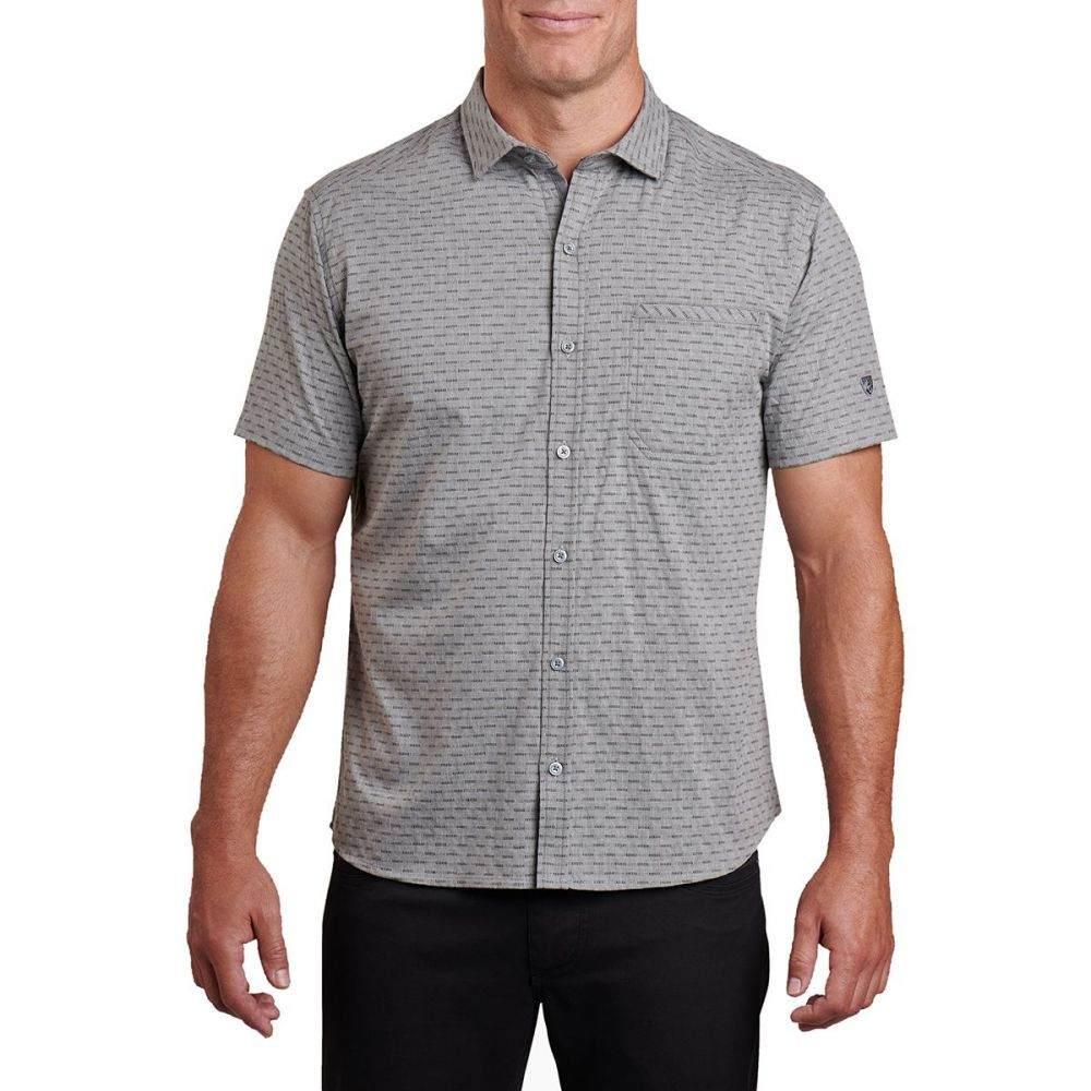 キュール KUHL メンズ 半袖シャツ トップス【Provok Short - Sleeve Shirt】Carbon