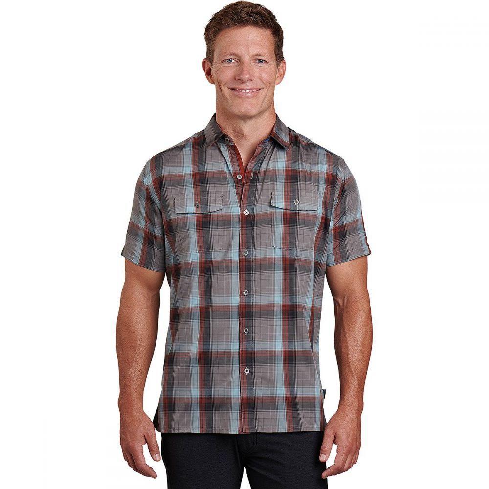 キュール KUHL メンズ 半袖シャツ トップス【Response Shirt】Vintage Teal