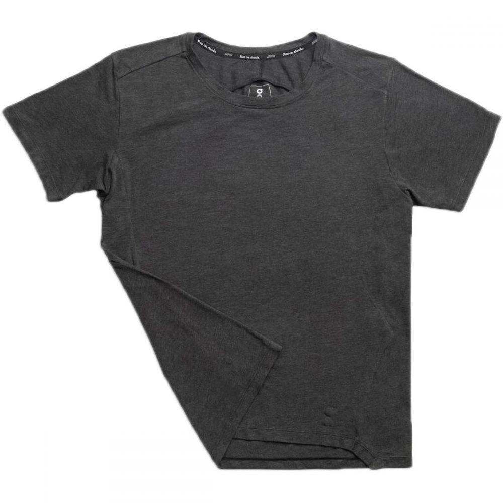 オン ON Running メンズ ランニング・ウォーキング ショートパンツ トップス【Active Short - Sleeve T - Shirt】Black