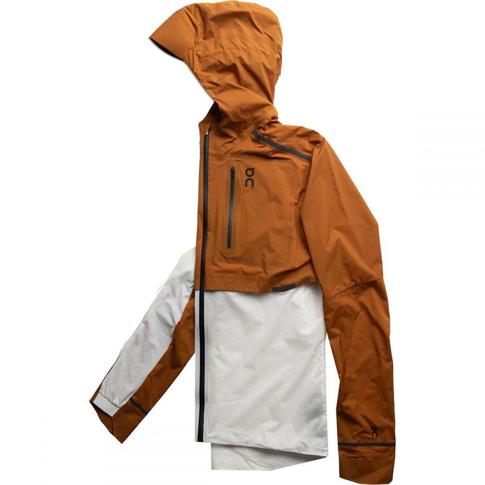 オン ON Running メンズ ランニング・ウォーキング ジャケット アウター【Weather Jacket】Pecan/White