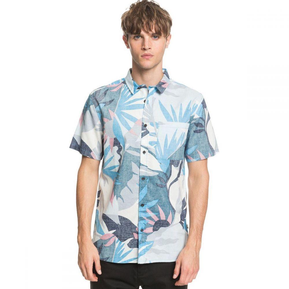 クイックシルバー Quiksilver メンズ 半袖シャツ トップス【Tropical Flow Short - Sleeve Shirt】Blith Tropical Floral