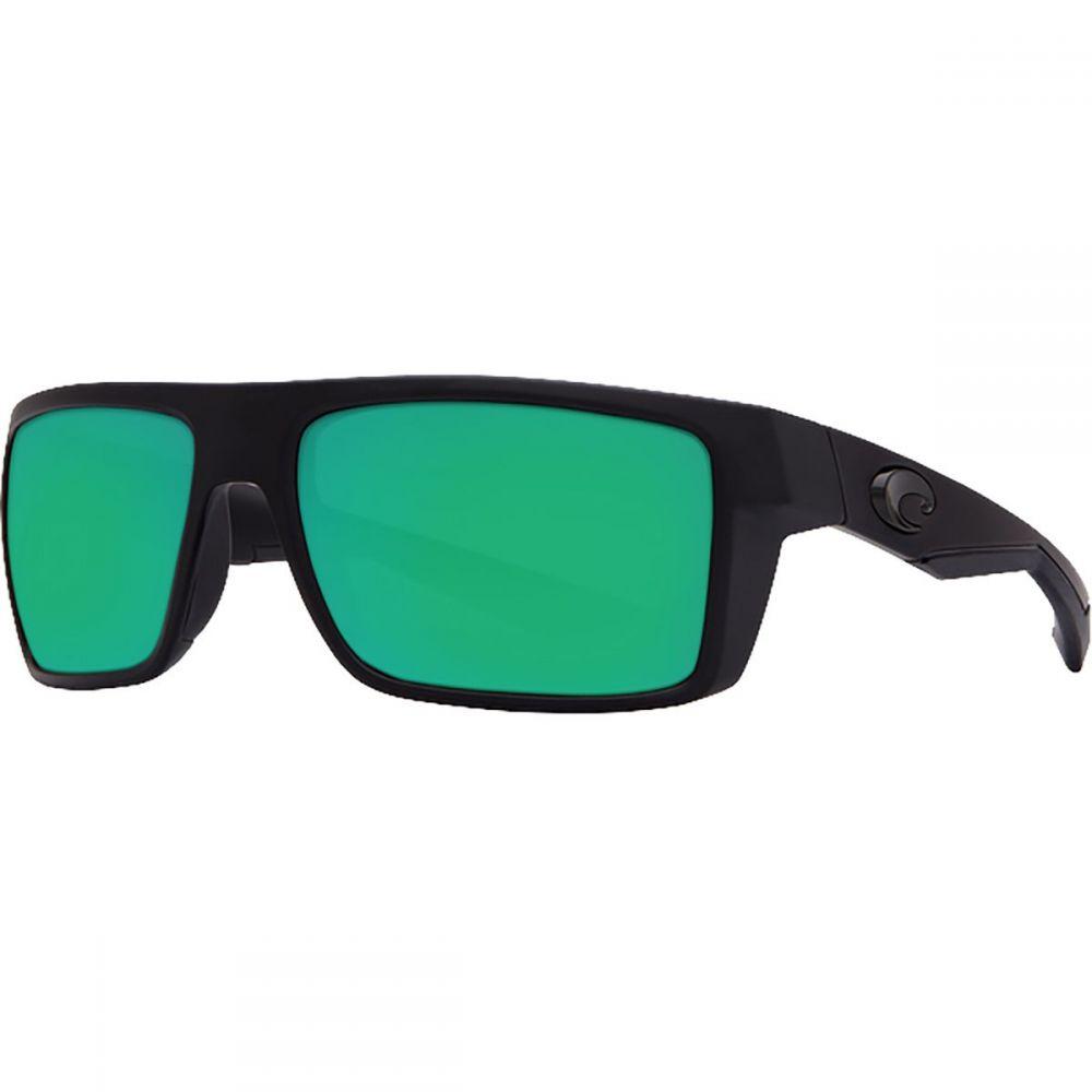 コスタ Costa レディース メガネ・サングラス 【Motu 580P Polarized Sunglasses】Blackout Frame/Green Mirror