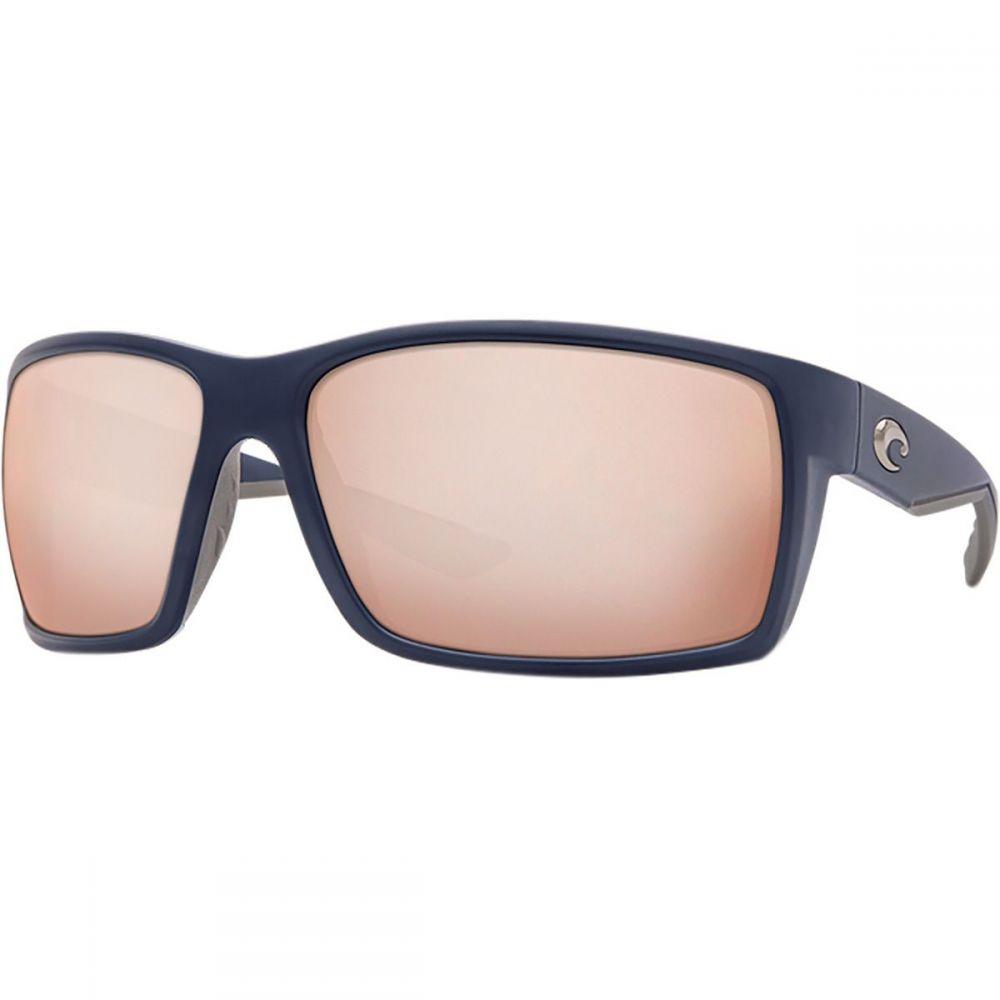 コスタ Costa レディース メガネ・サングラス 【Reefton 580P Polarized Sunglasses】Matte Blue Frame/Copper Silver Mirror P