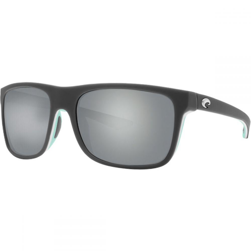 コスタ Costa メンズ メガネ・サングラス 【Ocearch Romora Polarized 580P Sunglasses】Matte Gray/White/Mint Frame/Gray Silver Mirror