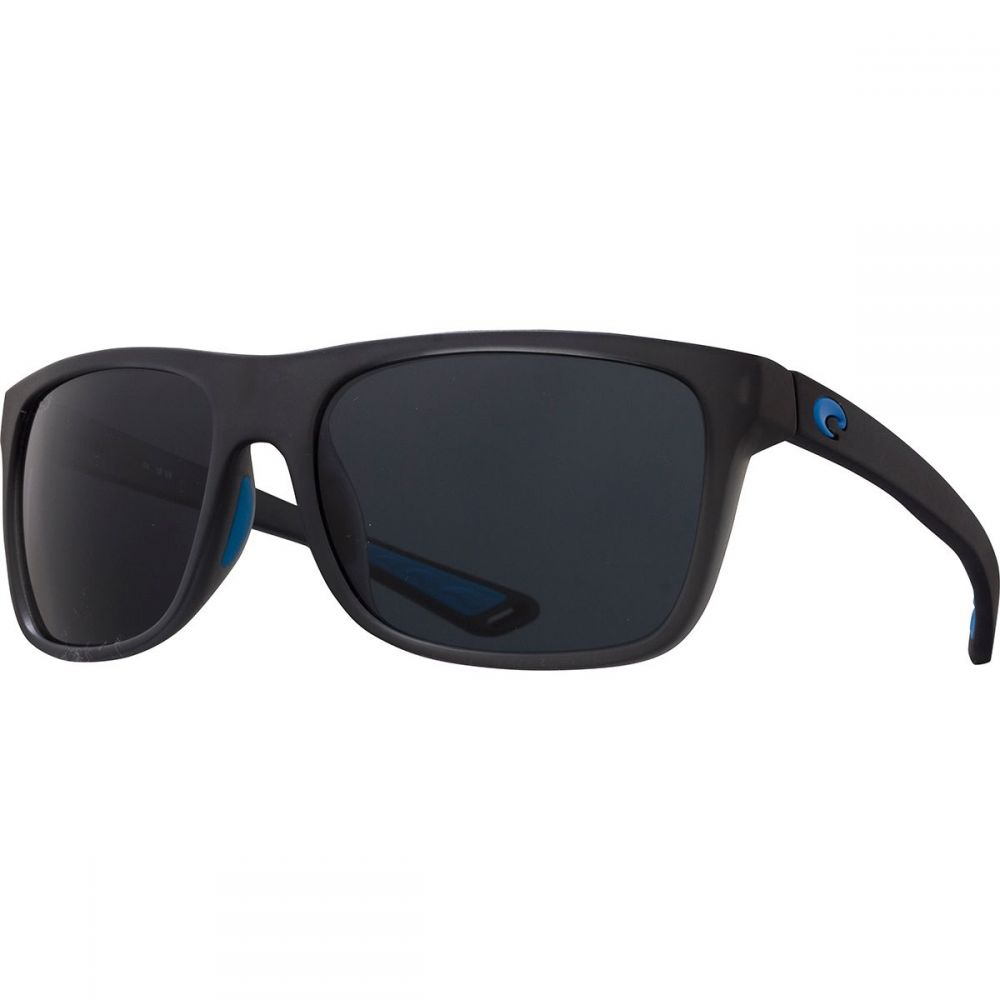 コスタ Costa メンズ メガネ・サングラス 【Ocearch Romora Polarized 580P Sunglasses】Matte Smoke Crystal/Blue Logo Frame/Gray