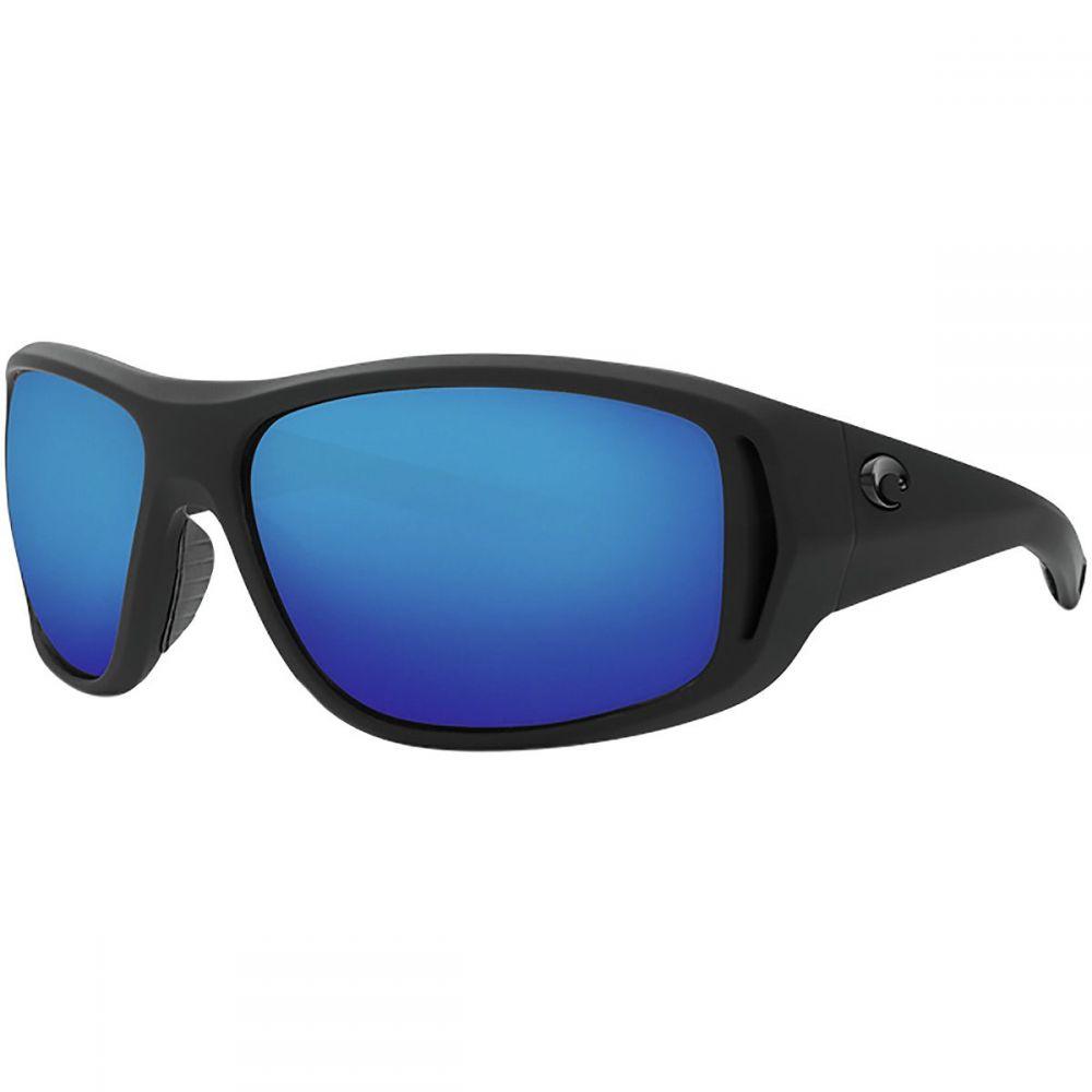 コスタ Costa メンズ メガネ・サングラス 【Montauk 580G Polarized Sunglasses】Blue Mirror g/Matte Black Ultra Frame