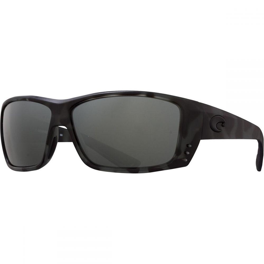 コスタ Costa メンズ メガネ・サングラス 【Cat Cay Blackout 580G Polarized Sunglasses】Ocearch Matte Tiger Shark Frame/Gray Silver Mirror